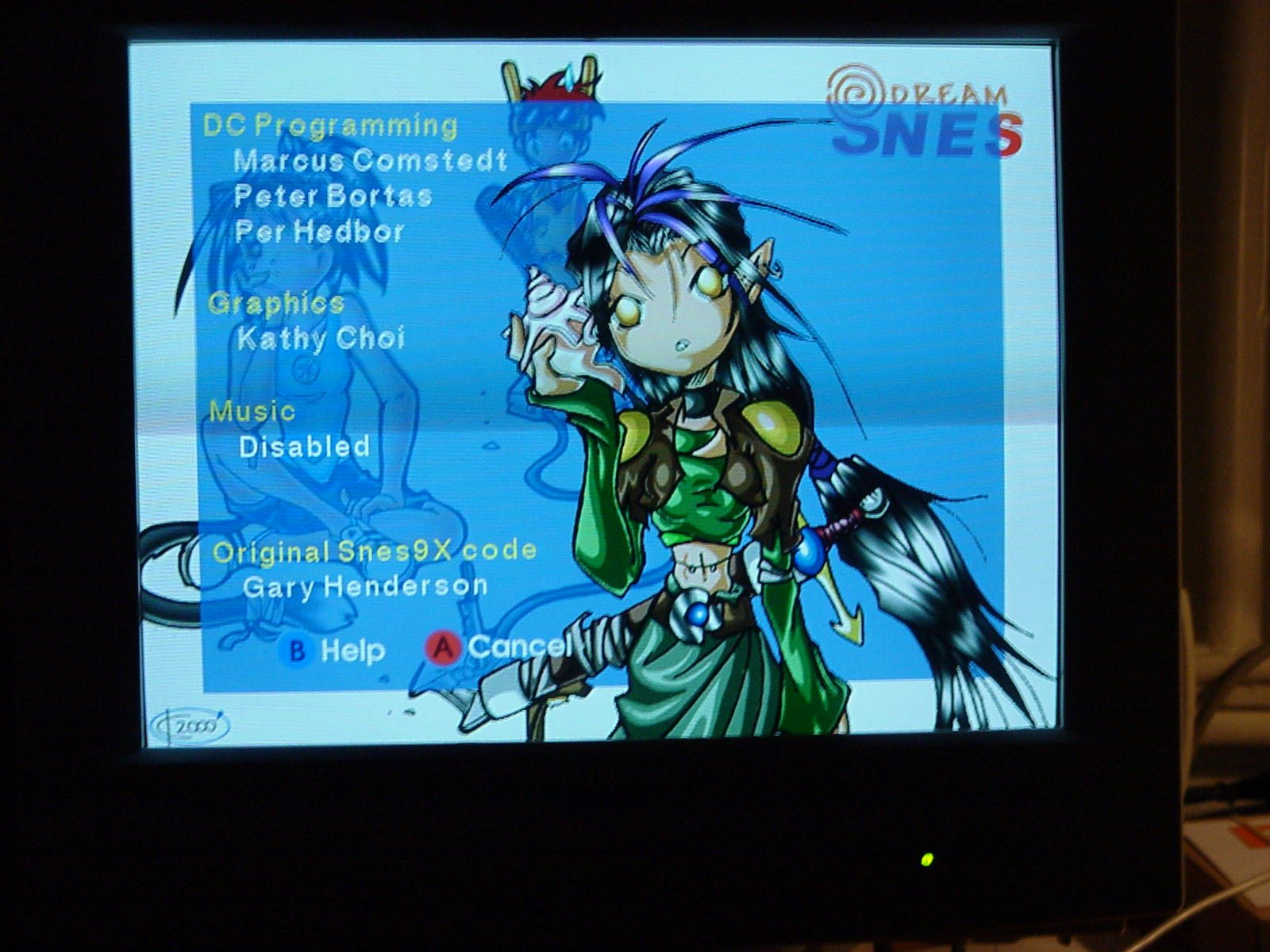 Dreamcast Programming - DreamSNES